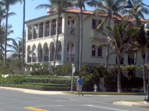 Alex Garfield's future home in Palm Beach.