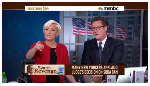 Stop pointing fingers, Mika. Image via theblaze.com