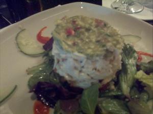 Crab dish at Ta-boo.