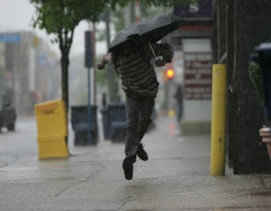 I can only wish I'd been this happy on my rainy day.