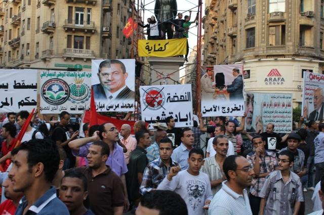 Anti-Morsi protest in Cairo. Image via Flickr.