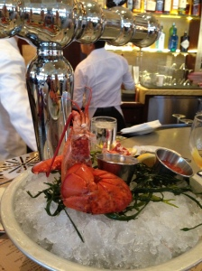 The half-lobster at Le Diplomate. Delish!