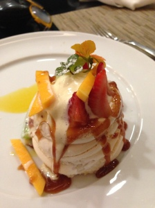 The pavlova at Chef's Club.