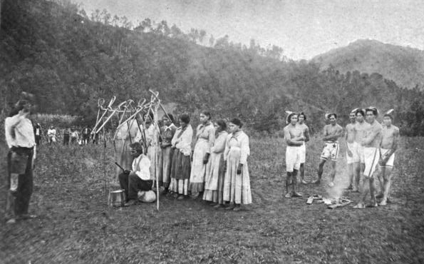 Eastern Band of Cherokee Indians, image via en.wikipedia.org
