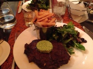Steak Frites at Et Voila