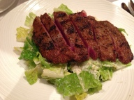 Steak Salad at The Palm.