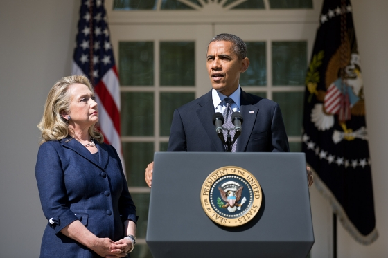 President Barack Obama talks about the Benghazi attack in 2012.