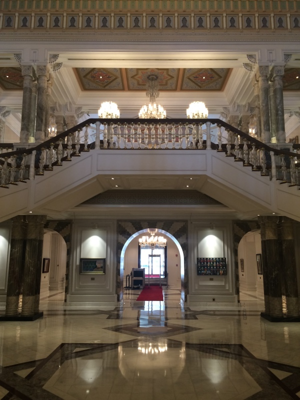 Ciragan Palace Kempinski hotel - the old palace