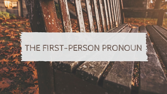 THe First Person Pronoun2 (2)