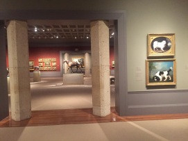 The Paul Mellon exhibit at the Virginia Museum of Fine Arts